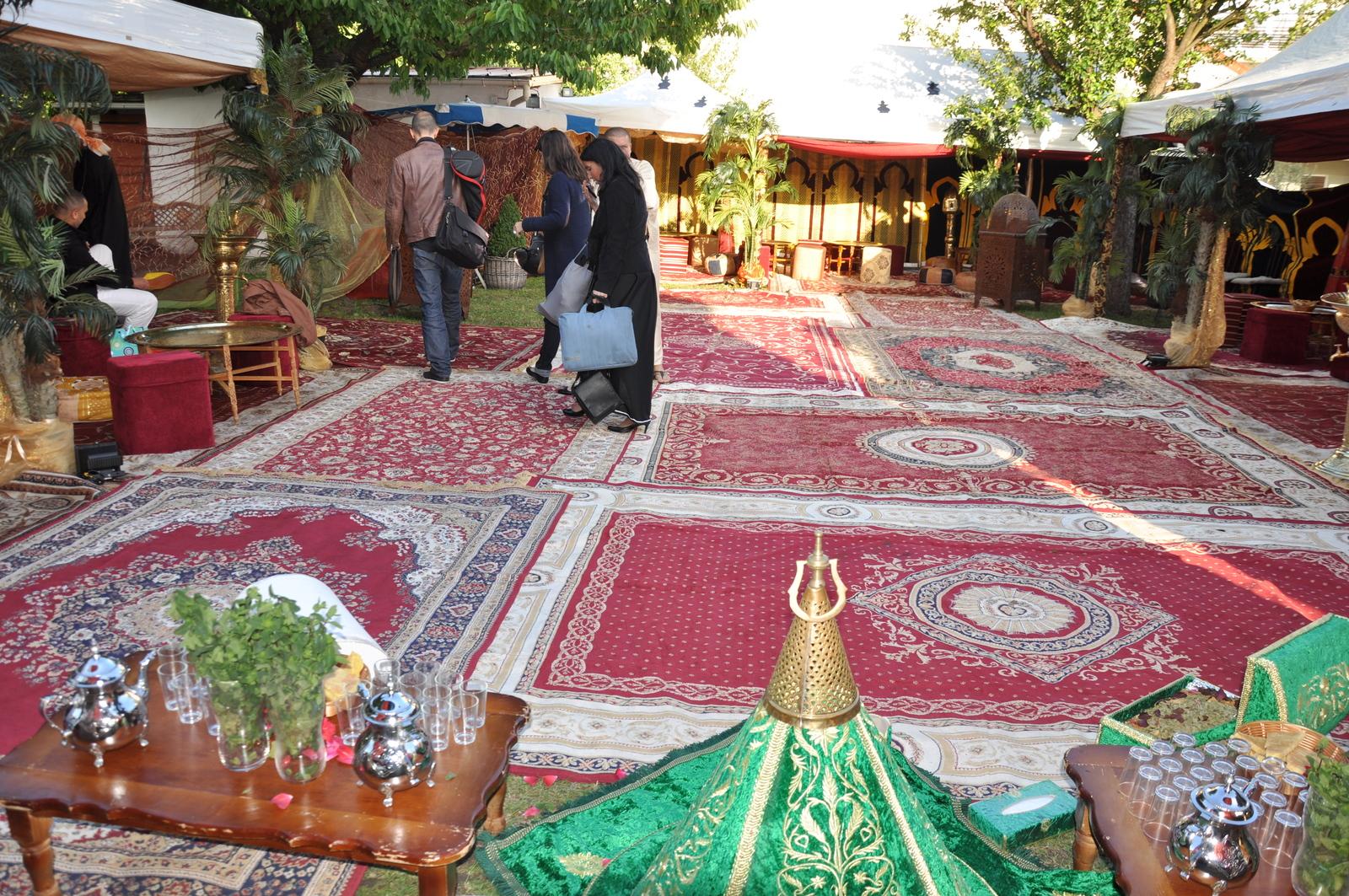 location et installation de Riad marocain pour soirée orientale avec tentes orientales- IDS ANIMATIONS
